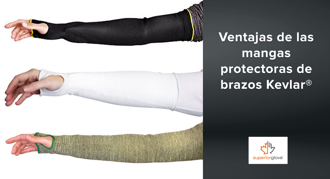 Ventajas y desventajas de las mangas protectoras de brazos Kevlar®