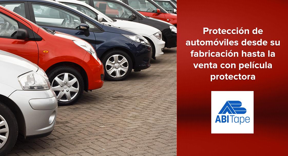 Protección de automóviles desde su fabricación hasta la venta con película protectora