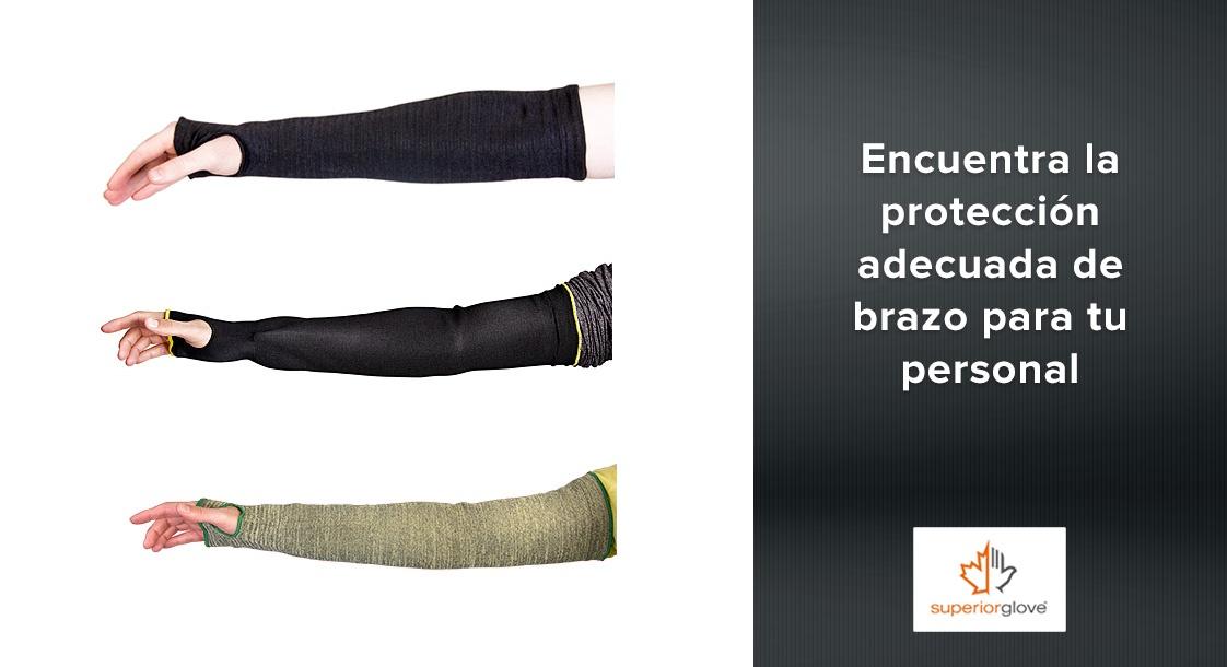 Encuentra la protección adecuada de brazo para tu personal con Superior Glove