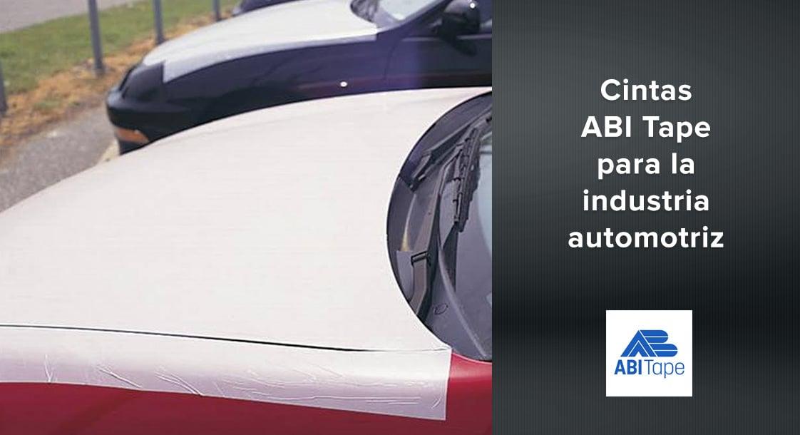 Conoce nuestras cintas industriales ABI Tape para la industria automotriz