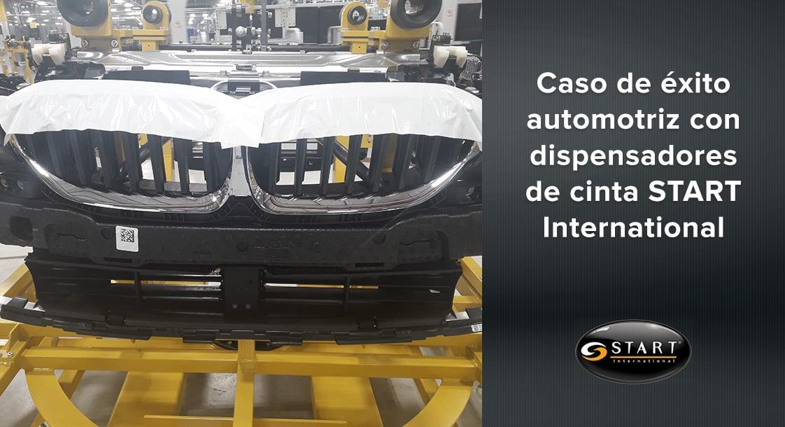 Caso de éxito en la industria automotriz con dispensadores de cinta Start International