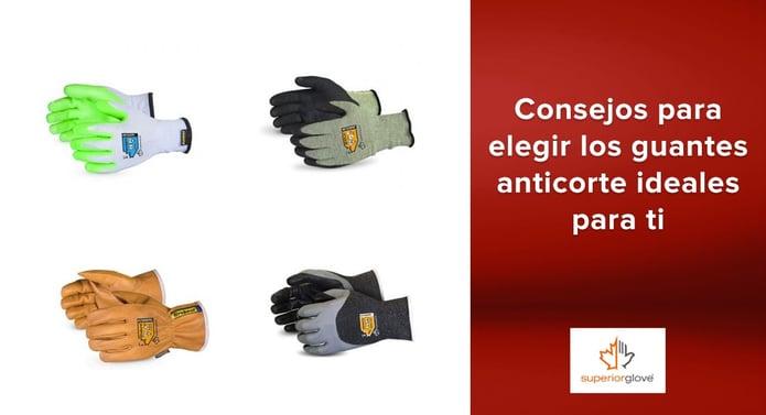 Consejos de Superior Glove para elegir los guantes anticorte ideales para ti