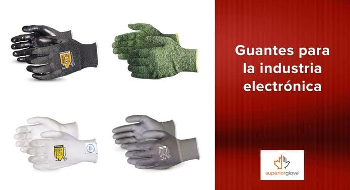 Guantes Superior Glove para la industria electrónica