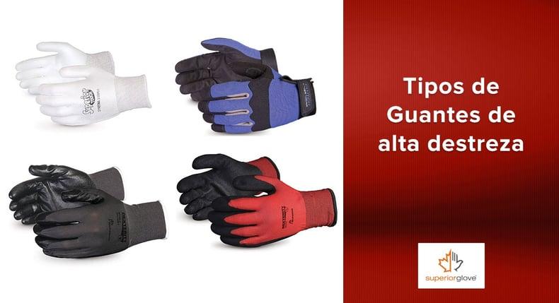 Tipos de Guantes de alta destreza Superior Glove