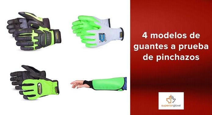 4 modelos de guantes a prueba de pinchazos Superior Glove