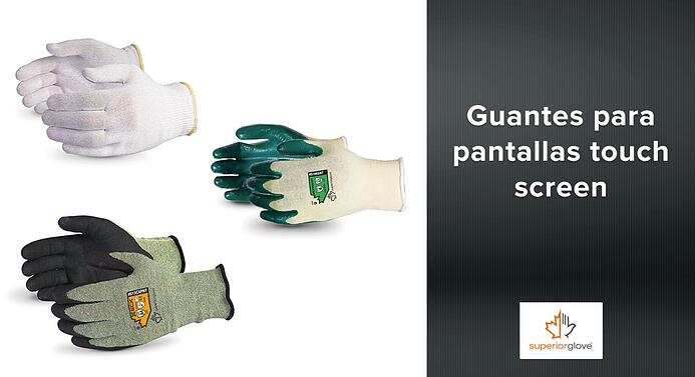 Guantes Superior Glove para pantallas touch screen
