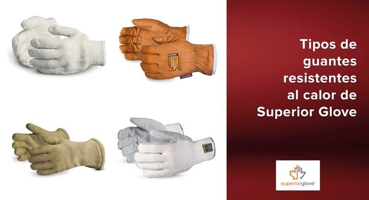 Tipos de guantes resistentes al calor de Superior Glove