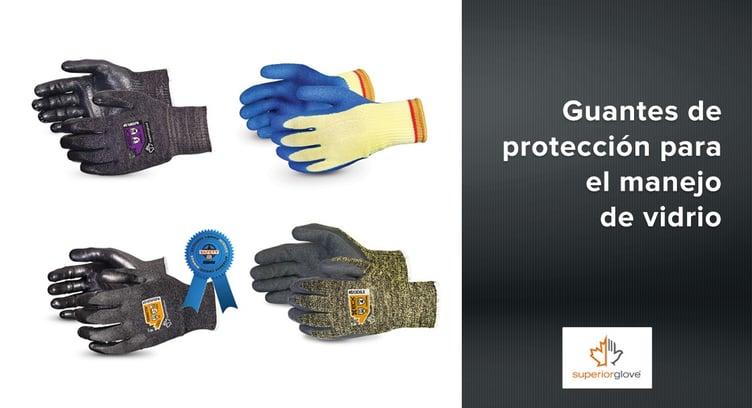 Guantes de protección para el manejo de vidrio Superior Glove