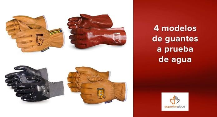 4 modelos de guantes a prueba de agua Superior Glove