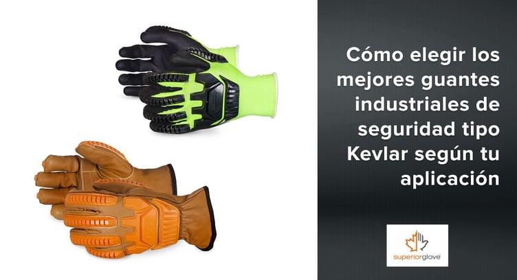 guantes industriales de seguridad tipo Kevlar