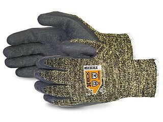 Guantes Superior Glove para vidrio Emerald CX, Kevlar Wire-Core con palmas de látex