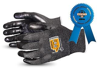 Guantes Superior Glove para vidrio TenActiv de fibra de filamento compuesto de calibre 18, nivel A4, resistentes al corte