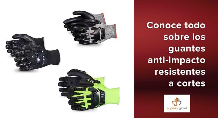 guantes anti-impacto resistentes a cortes de Superior Glove