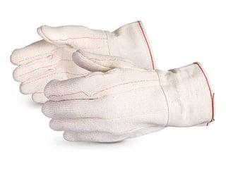 Guantes Superior Glove Cool Grip acolchados de algodón y Terry