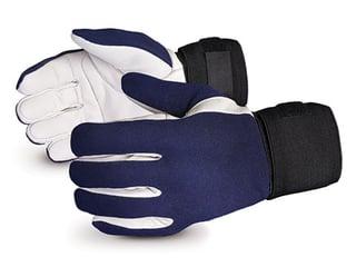 Guantes Vibrastop ™ de amortiguación de vibraciones de palma de cuero Superior Glove