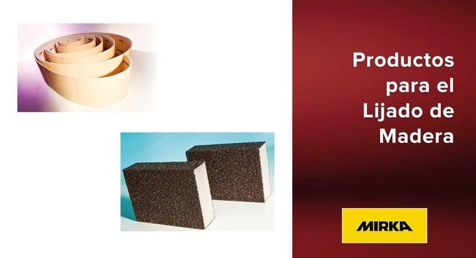 Productos Mirka para el Lijado de Madera