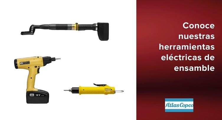 herramientas eléctricas de ensamble Atlas Copco