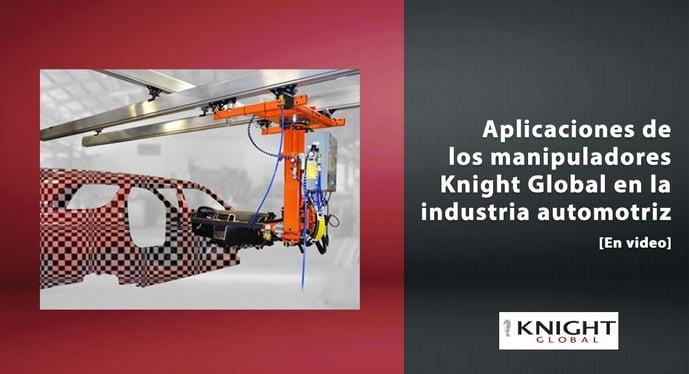 Knight Global como el principal proveedor en la industria automotriz