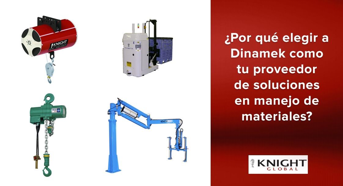 ¿Por que elegir a Dinamek como tu proveedor de soluciones en manejo de materiales?