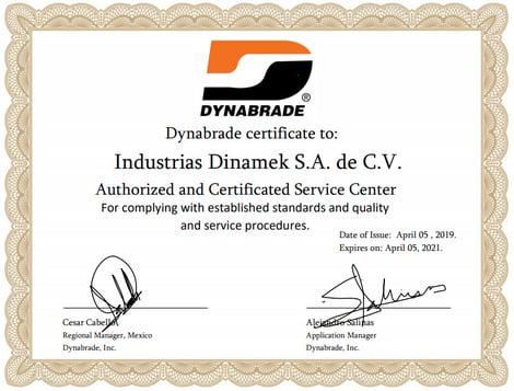 certificado dinabrade 2