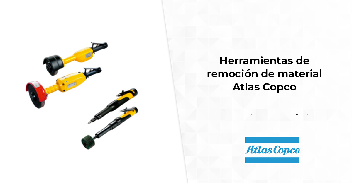 Herramientas de remoción de material Atlas Copco