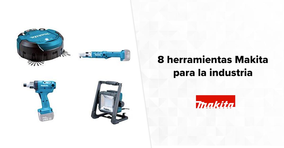 8 herramientas Makita para la industria de torque