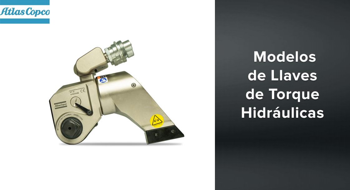 Modelos de Llaves de torque hidráulicas Atlas Copco