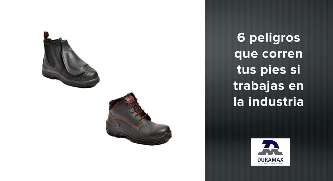 6 peligros que corren tus pies si trabajas en un ambiente industrial