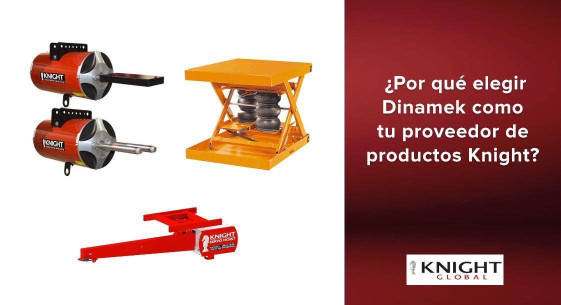 ¿Por qué elegir a Dinamek como tu proveedor de productos Knight Global?
