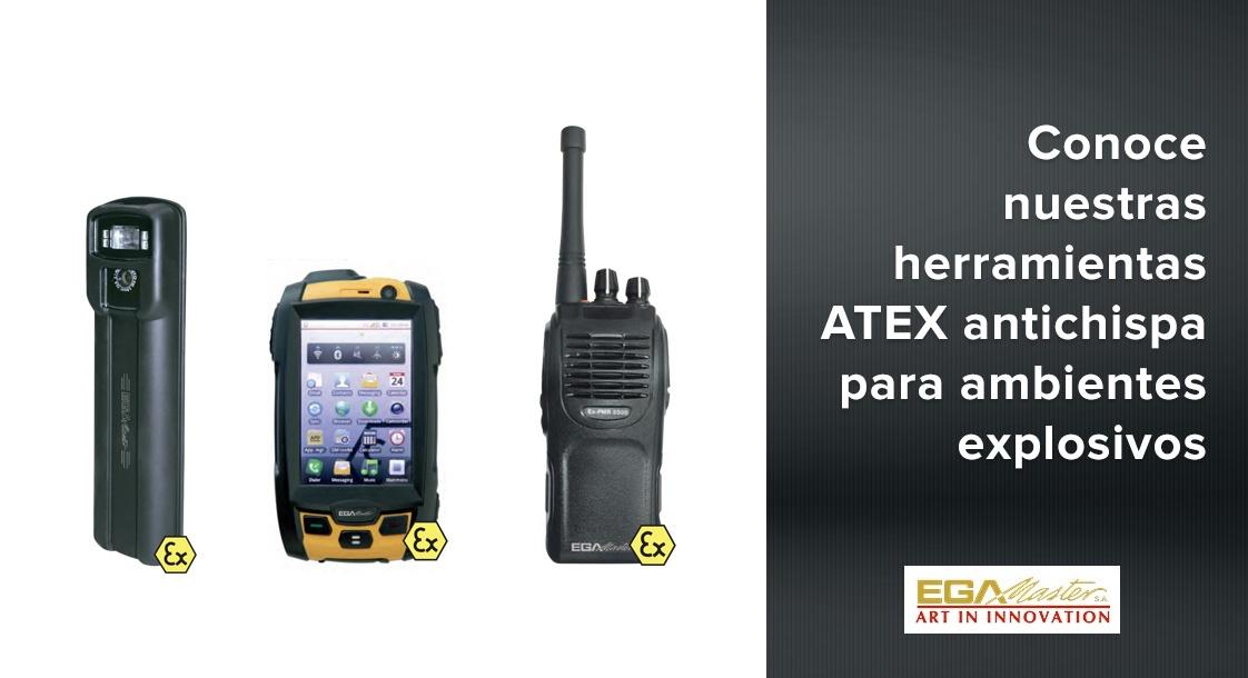 Conoce las herramientas ATEX antichispa de EGA Master para ambientes explosivos