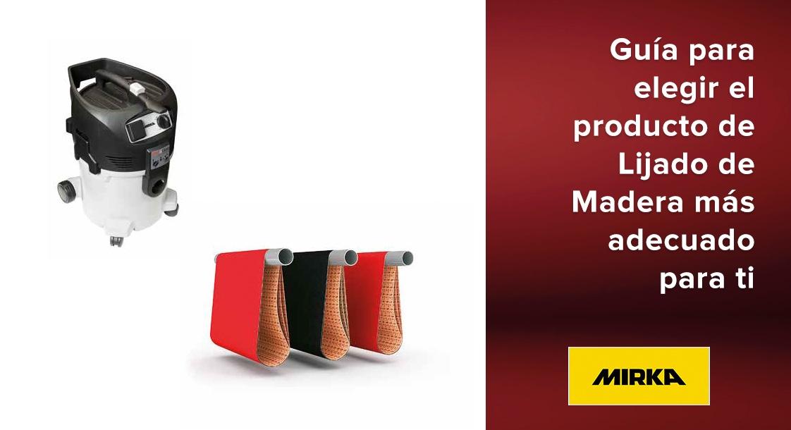 Guía para elegir el producto Mirka de Lijado de Madera más adecuado para ti