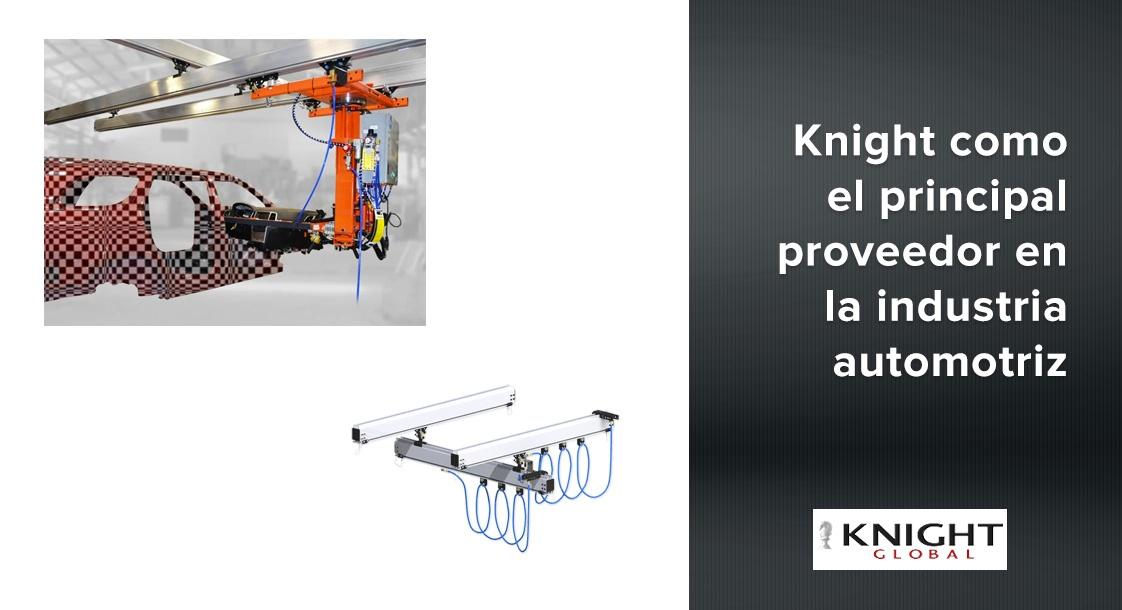 Conoce como se usan los brazos Knight de los manipuladores Knight Global [Videos]