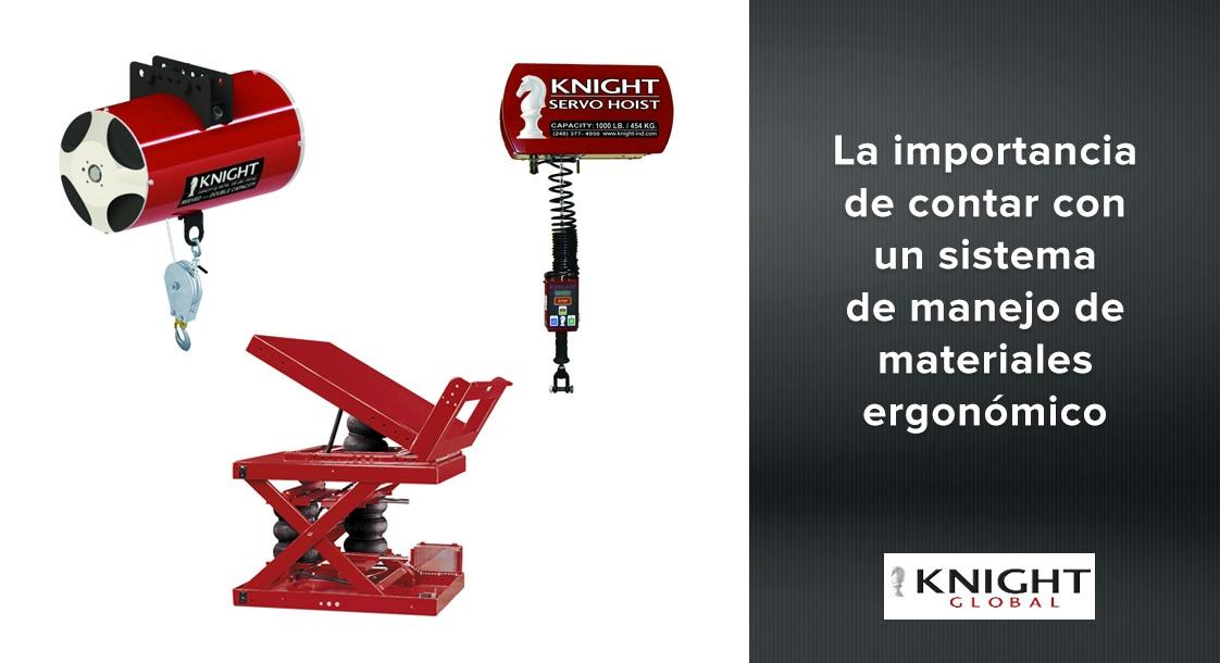 La importancia de contar con un sistema de manejo de materiales ergonómico Knight Global