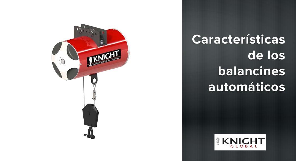 Características de los balancines neumáticos Knight