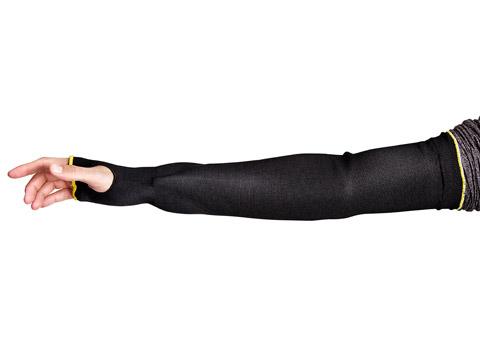 Mangas resistentes a los cortes con forma de cuello negro Cutban™