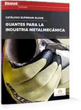 Catálogo de guantes para la Industria Metal mecánica