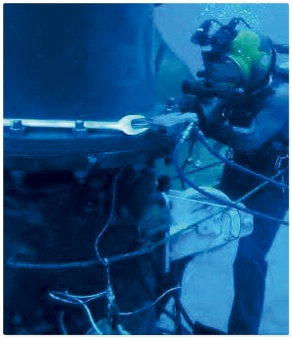 Herramientas para uso sub-acuático