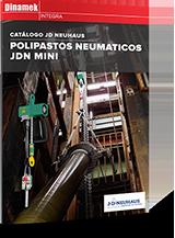JD Neuhaus de Polipastos Neumaticos MINI