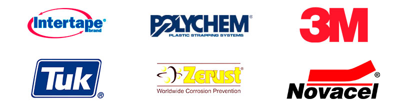 Productos para material y equipos para empaque