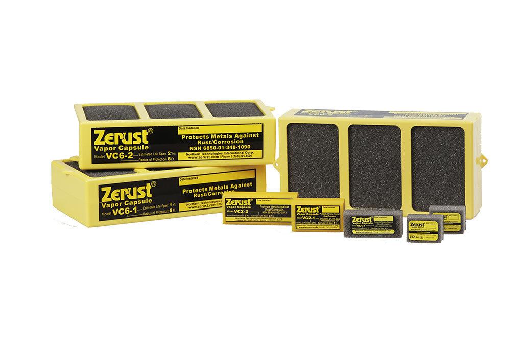 Cápsulas de Vapor Zerust™